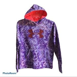 Under Armour Purple Pullover Hoodie